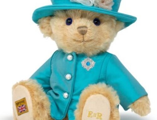 Shropshire Firm Merrythought Reveals Special Bear to Honour HM The Queen