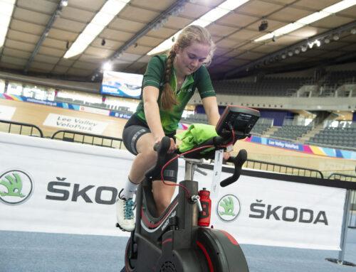Shropshire cyclist selected for prestigious ŠKODA DSI Cycling Academy by Dame Sarah Storey