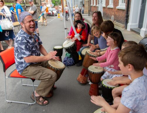 Free Family Events bring colour and creativity to the streets of Shrewsbury