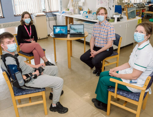 RJAH unveils £50,000 cutting-edge orthosis with help from Friends