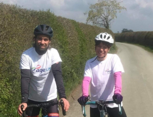An epic endurance cycle ride for local charity